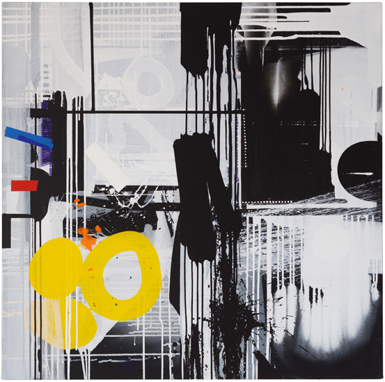 WHERE OR WHEN III 2013/100 x 100 cm/SOLD